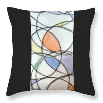 Church Glass Throw Pillow