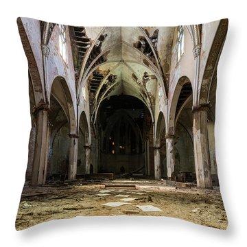 Church In Color Throw Pillow