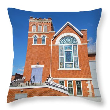 Church In Emmett Idaho Throw Pillow
