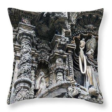 Church In Lima Throw Pillow
