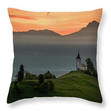 Church Jamnik Throw Pillow