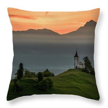 Church Jamnik Throw Pillow