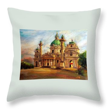 Church Throw Pillow