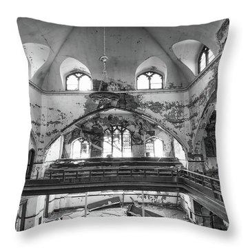 Church Murals Throw Pillow