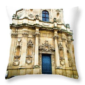 Church Of St Chiari Throw Pillow