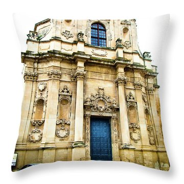 Church Of St Chiari Throw Pillow