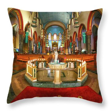 Throw Pillow featuring the photograph Church Of St. Paul The Apostle by Mitch Cat