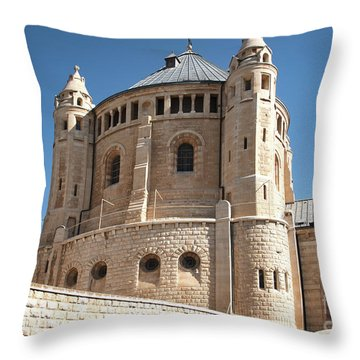 Throw Pillow featuring the photograph Church Of The Dormition by Mae Wertz