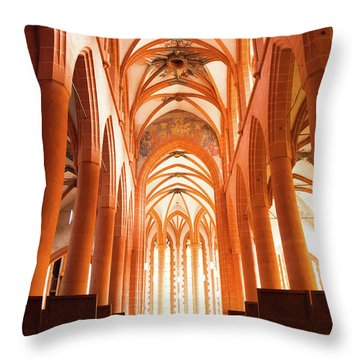 Church Of The Holy Spirit Throw Pillow