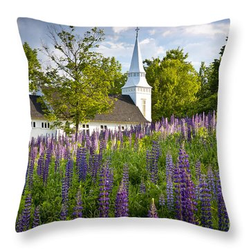 Church On Sugar Hill Throw Pillow