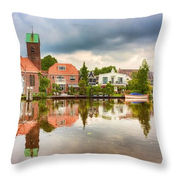 Church Reflections Throw Pillow