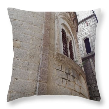 Church Tower Throw Pillow
