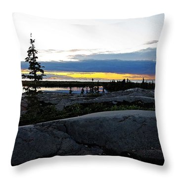 Churchill Tundra No. 1 Summer Throw Pillow