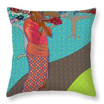 Ci Vi's Quilt Throw Pillow