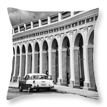 Cienfuegos, Cuba Throw Pillow