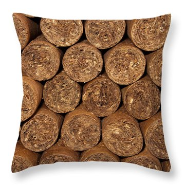 Cigars 262 Throw Pillow