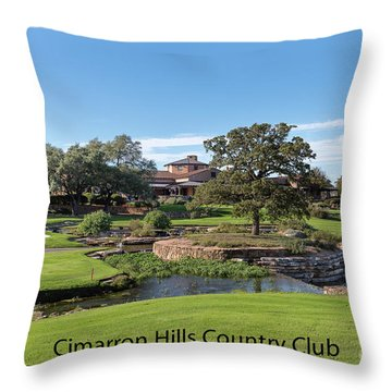 Cimarron Hills Throw Pillow