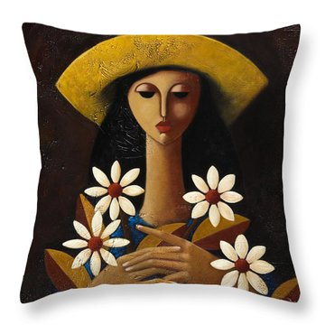 Cinco Margaritas Throw Pillow