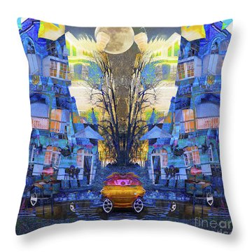 Cinderella's Coach Throw Pillow