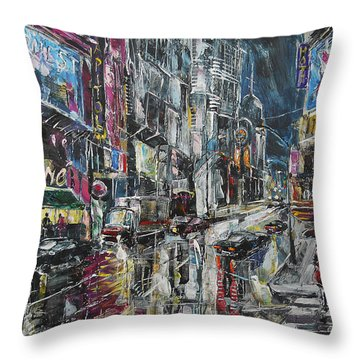 Cinema Time Throw Pillow