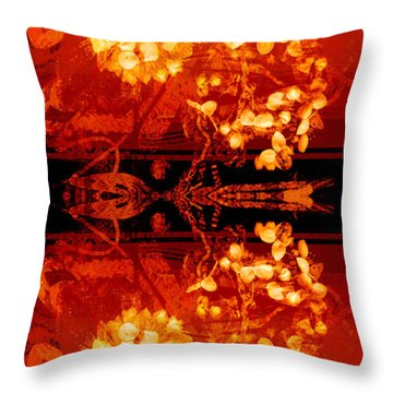 Cinnabar II Throw Pillow