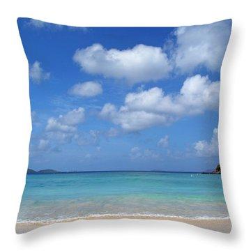 Cinnamon Bay 6 Throw Pillow