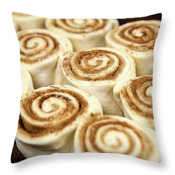 Cinnamon Rolls Throw Pillow