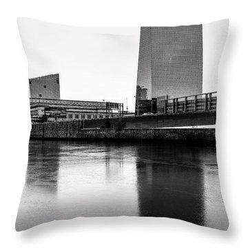 Cira Centre - Philadelphia Urban Photography Throw Pillow by David Sutton