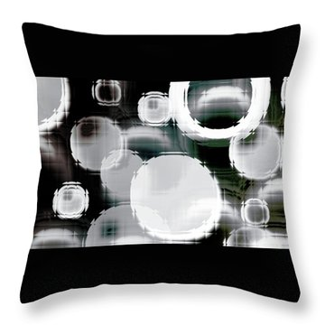 Circle Blocks Throw Pillow