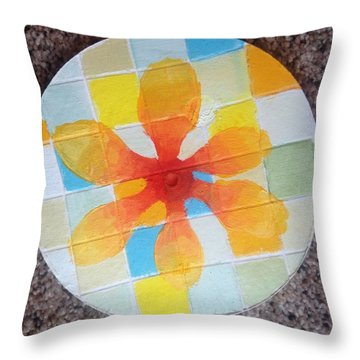 Circle For Daud Throw Pillow