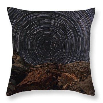 Circle Of Time Throw Pillow