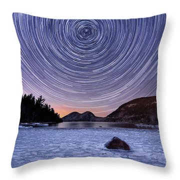 Circles Over Bubbles Throw Pillow