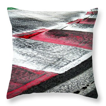 Circuit De Montreal ... Throw Pillow
