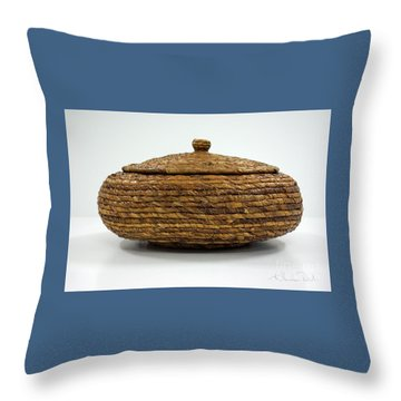 Circular Bound Throw Pillow