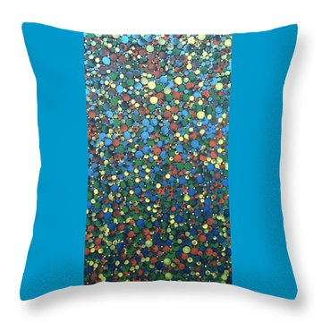 Circular Color Throw Pillow