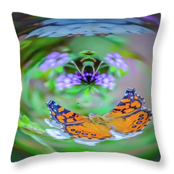 Circularity Throw Pillow