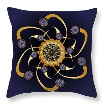 Circularium No. 2469 Throw Pillow