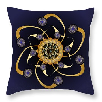 Circularium No. 2469 Throw Pillow by Alan Bennington