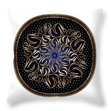 Circularium No. 2506 Throw Pillow