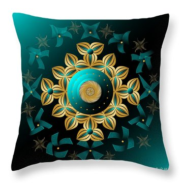 Circularium No 2704 Throw Pillow