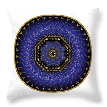 Circularium No 2714 Throw Pillow