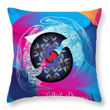 Circularium No 2719 Throw Pillow