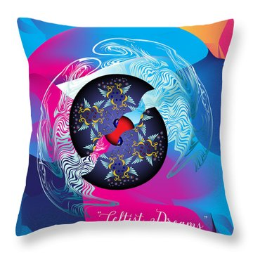 Circularium No 2719 Throw Pillow by Alan Bennington