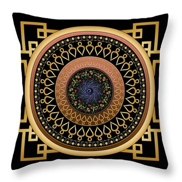Circulosity No 2806 Throw Pillow