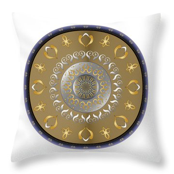 Circulosity No 2916 Throw Pillow
