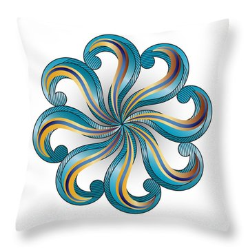 Circulosity No 2919 Throw Pillow