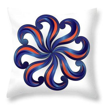 Circulosity No 2920 Throw Pillow
