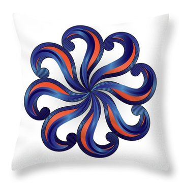 Circulosity No 2920 Throw Pillow