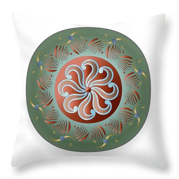 Circulosity No 2921 Throw Pillow
