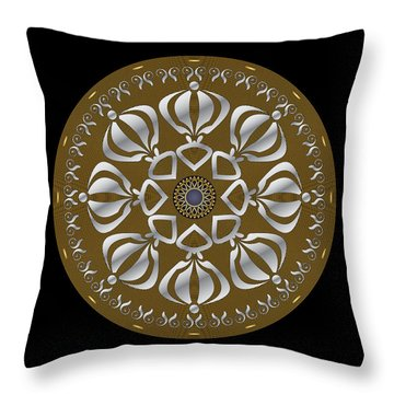 Circulosity No 2923 Throw Pillow